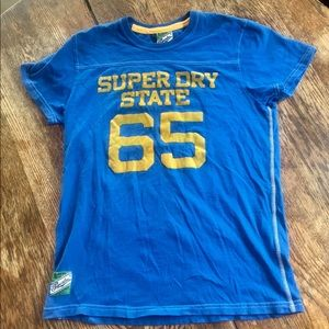 Superdry Athletics Blue Tee